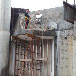 ניסור בטון בגובה