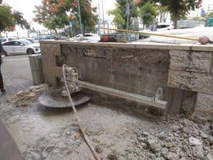 ניסור בטון בחיפה